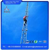Torre galvanizada do aço de uma comunicação do fio de indivíduo do MERGULHO quente