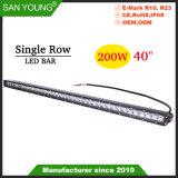 40pouces 200W bar lumineux pour LED Cree Offroad 4X4 Barre de LED pour ATV Offroad SUV Jeep Engineering IP68 du chariot
