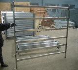 Панели ярда овец рельса 60X30mm Австралии овальные/панели Corral скотин