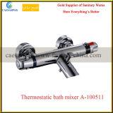 Grifo de agua termostático del cuarto de baño de la bañera de las mercancías sanitarias