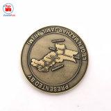 ドバイの中国の工場卸売の金属の看護のマップの硬貨