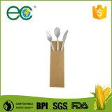 Völlig biodegradierbares und kompostierbares Cpla Tischbesteck, 24PCS Installationssatz, 24PCS/Box