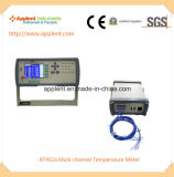 Mehrkanalthermometer-Digital-industrieller Thermometer (AT4516)
