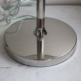 Lampadaire d'hôtel en Europe Lampe de table rotative en acier inoxydable