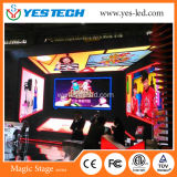 P4 풀 컬러 HD 실내 조정 임대 SMD 전시 화면