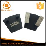 Diamante stridente concreto del metallo di Werkmaster con 2 perni