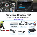 Benz Android Multimedia Navigation Video Interface with 3G, Bulit-in WiFi, Touch Control