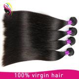 卸売価格の人間のまっすぐで膚触りがよい毛のブラジルのバージンの毛
