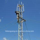 StahlAttice Spanndraht-Telekommunikations-Aufsatz