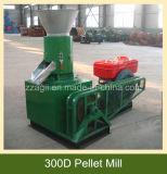 Macchina della pressa della pallina del motore diesel del piccolo modello per segatura di legno