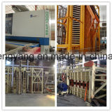 Panneau automatique et semi-automatique de particules faisant la chaîne de production de panneau de particules de machine