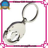 Bestellte Metalschlüsselring für Keychain Geschenk voraus