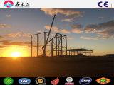 La lumière de la conception de la construction industrielle Type de structure en acier Structure métallique des bâtiments de l'entrepôt