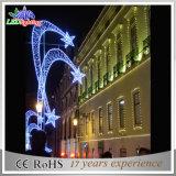 [موردن] خارجيّة شارع زخرفيّة [لد] عيد ميلاد المسيح زخرفيّة خيط ضوء