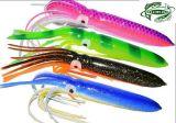 Attrait en plastique doux de pêche d'attrait du calmar 15g de la vente en gros 180mm