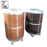 la couleur d'épaisseur de 0.2-3.0mm a galvanisé la bobine de l'acier PPGI d'enduit
