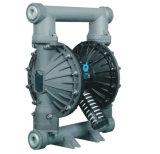 Rd 50 gros débit de pompe à diaphragme pneumatique en aluminium double