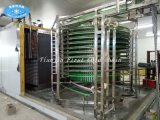Gewundenes Tiefkühlverfahren/Gefriermaschine für gefrorenes Fischfilet oder Garnele