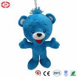 A qualidade bonito do urso azul caçoa o brinquedo macio do luxuoso do presente