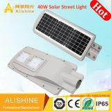 Indicatore luminoso esterno della via della lampada certificato Banca dei Regolamenti Internazionali della centrale elettrica del comitato solare LED