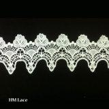 커튼과 직물 부속품 Hml006를 위한 12.4cm 세련된 고품질 레이스 손질