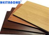 Мраморные зерна из гранита дизайн алюминиевых композитных панелей для украшения