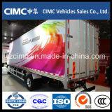 La nueva China marca Isuzu Giga V61 4x2 Furgoneta Camión de carga con motor Isuzu