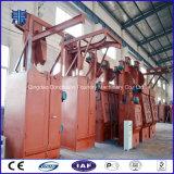 Macchina utilizzata nel gelo di superficie di Armest inossidabile, macchina di granigliatura dell'amo di granigliatura dell'amo con due turbine