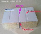 Los materiales de construcción de paneles sándwich de lana de roca Fire-Proof