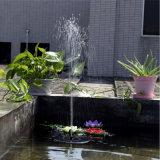 Насос солнечной энергии с плавающей запятой фонтанчика для ванной птиц пруд сада оформление