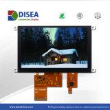 5.0 pouce TFT LCD Module avec panneau tactile capacitif 800x480 24 bit RGB 480cd/m2