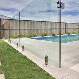 Alta 10mm transparente de vidro temperado de partição do Office