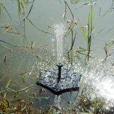 Runde Solarwasser-Brunnen-Miniangeschaltene Wasser-Brunnen-Solarpumpe