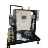 Purificatore dell'olio lubrificante di vuoto del trasformatore per il riciclaggio dell'olio residuo della turbina