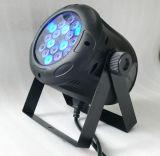 段階の照明(ICON-A012)のための18pcsx1w RGBの同価ライト