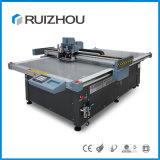 Paño automático de Ruizhou/sentido/cuero/cortadora de la tela con la banda transportadora