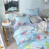 印刷されたMicrofiberポリエステルホーム寝具の羽毛布団カバーシーツ