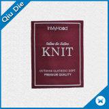 De alta calidad OEM Custom etiqueta tejida para accesorios de prendas de vestir