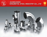 A270 AISI 316L Santary Tube Fitting Inox Steel Long 90 Degree Elbow,