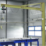 Palan à chaîne électrique de colonne grue Grue de la flèche de rotation