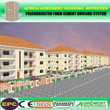 강철 프레임 적당한 지능적인 시멘트 Prefabricated 별장 및 집