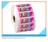 Diaria del producto de impresión de etiquetas