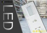 LED-im Freien helle einteilige integrierte Sonnenkollektor-Garten-Straßenlaterne