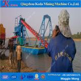 60-100cbm/Hour川の金のPanningのバケツの鎖の浚渫船