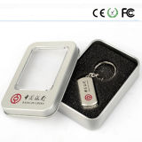 Metal Material Free Logo Swivel Design USB Flash Drive (XPZ)