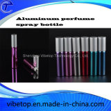 El aluminio 12ml Perfume atomizador Pulverizador de botellas de vidrio
