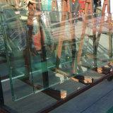 12mm super grand clair de la Chine en verre trempé