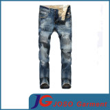 Forma Scratch Straight Old Jeans para Men (JC3397)