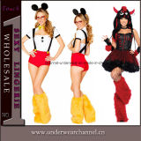 Fête de l'adulte Sexy Dance Halloween Lingerie Animal Costume (TLQZ1645)