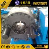 Dx102 China fabricante o aço inoxidável trançado máquina de crimpagem de mangueira flexível